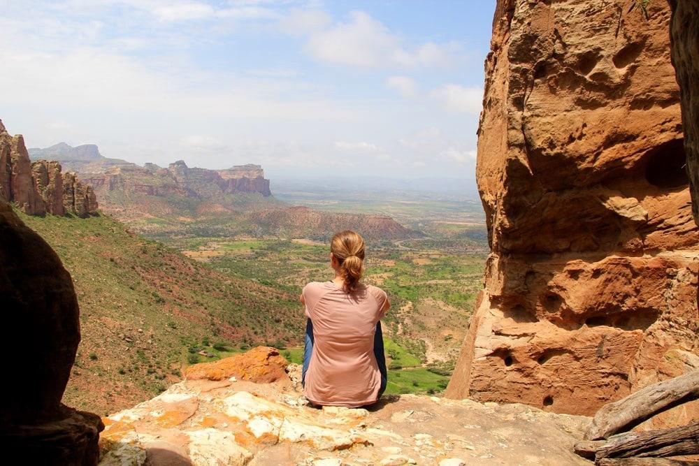 Claudia in Äthiopien