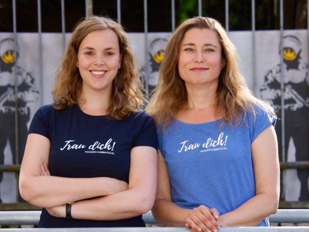 Die Modern-Sabbatical-Crew: Imke & Claudia