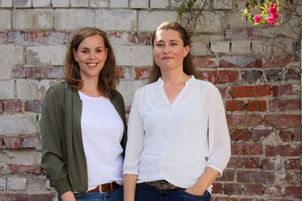 Imke (links) und Claudia (rechts) vom Modern-Sabbatical-Projekt