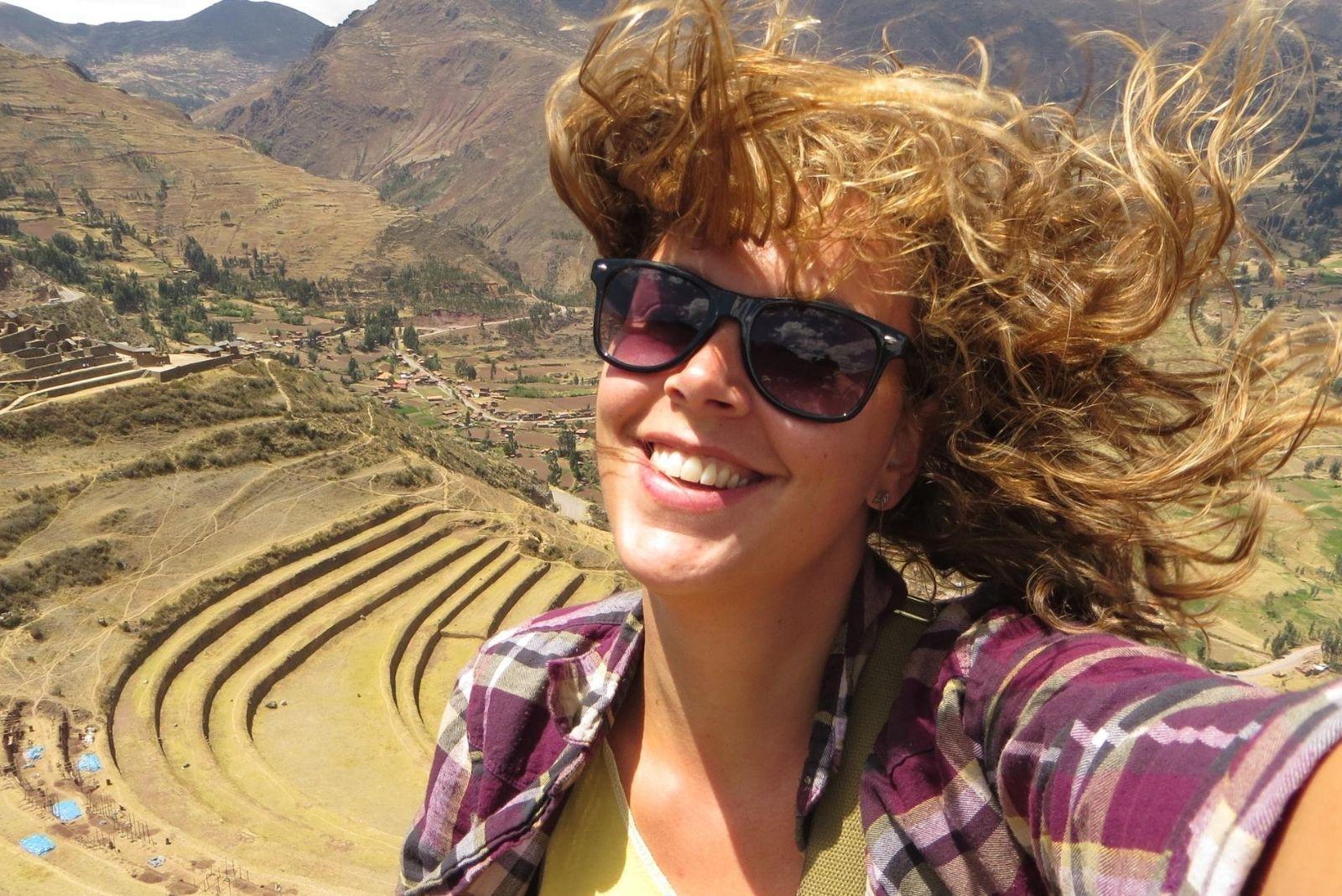 Imke in Peru