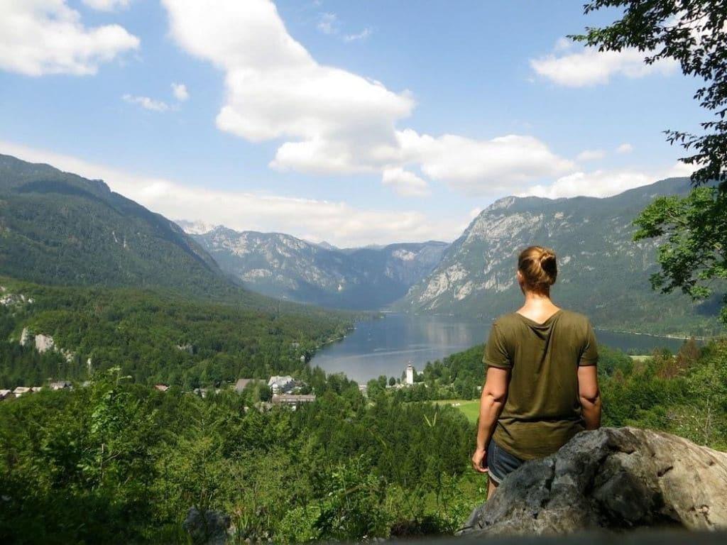 Slowenien-Aussichtspunkt