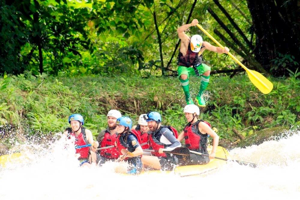 Rafting in La Fortuna Costa Rica