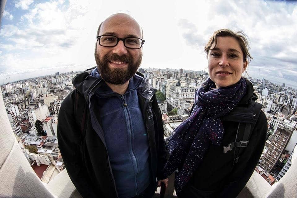 Dominik und Claudia Palacio Barolo Buenos Aires Argentinien