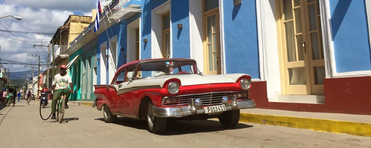 Oldtimer in Trinidad Kuba